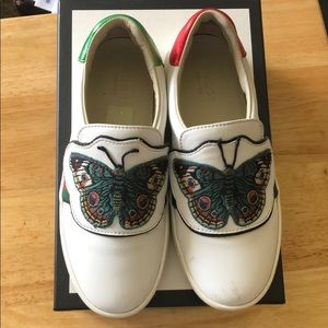 Gucci leather slip-on sneakers (Kids)
